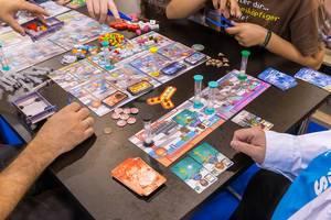 Rush MD Medical Center Brettspiel von Fans gespielt