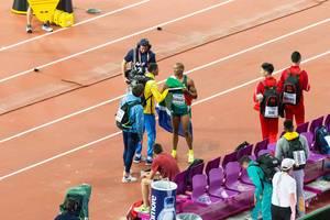 Ruswahl Samaai (Weitsprung) bei den IAAF Leichtathletik-Weltmeisterschaften 2017 in London