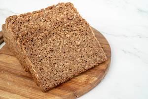 Rye Bread Slices on the wooden board (Flip 2019)