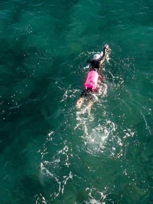 SafeSwimmer Boje für Outdoor-Schwimmen