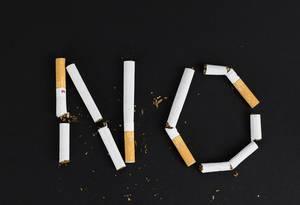 Sagen Sie nein zum Rauchen
