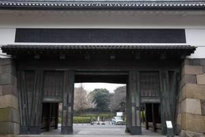 Sakuradamon der Burg Edo in Chiyoda, Tokyo