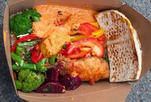 Salad of Whole Foods Market