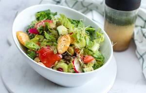 Salad with tomato, Radish, Olive and Celery  (Flip 2019)