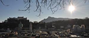 Salzburg: Blick vom Kapuzinerberg