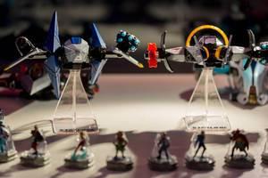 Sammelfiguren von Raumschiffen aus Starlink: Battle for Atlas