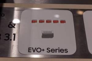 Samsung microSD Speicherkarten EVO+ Series