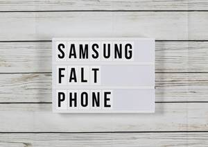 Samsungs faltbares Smartphone – eine Kampfansage an Apple
