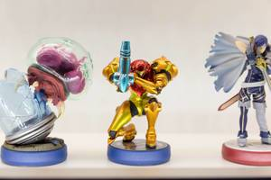 Samus Aran und Metroid Amiibo - Gamescom 2017, Köln