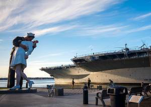 San Diego plane carrier  / Flugzeugträger