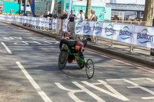Sandra Graf VMLM - London Marathon 2018