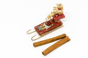Santa Claus bringing presents