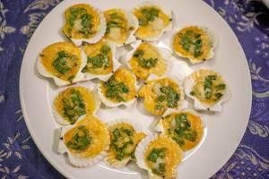 Scallops prepared with Five Spice in Mui Ne, Vietnam