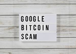 Scam: Google G Suite bietet 10.000 Bitcoin an