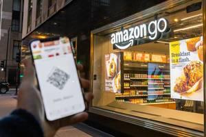 Schnell und bequem mit dem Smartphone bei Amazon Go einkaufen