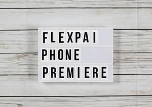 Schneller als Samsungs Galaxy X:Falt-Smartphone FlexPai feiert Weltpremiere