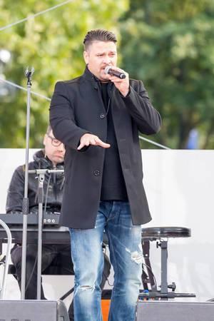 Sebastian Hämer bei einem Auftritt 2017 in Köln