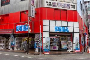 Sega Store in Tokyo