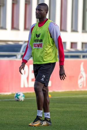 Sehrou Guirassy beim Training am 30.01.2018