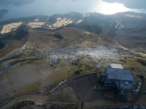 Seilbahn am Berg Hakone-Komagatake, Japan