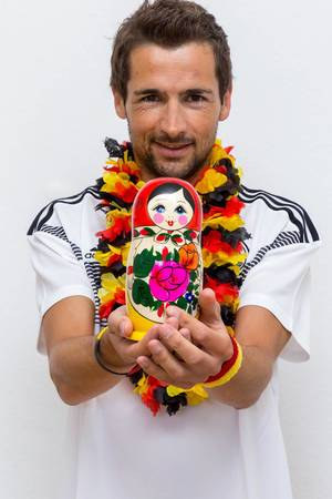 Selfie mit Matroschka zur Fußball-WM 2018