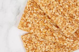 Sesame Crisp Boards on marble table