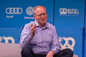 """Session mit Dave Limp von Amazon zum Thema """"The future is Voice"""" auf dem Bits & Pretzels Event"""