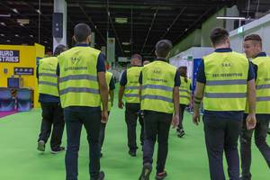 Sicherheitsdienst auf der Gamescom 2018