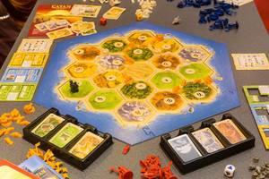 Siedler von Catan das Spiel auf der Spiel Essen Messe