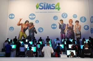 SIMS4 @ Gamescom