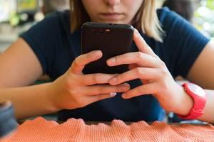 Simsen mit dem Smartphone