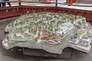 Skansen-Miniatur-Landschaft