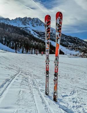 Ski in winter season  Flip 2019