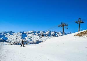 Skiing in Alps  Flip 2019