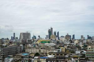 Skyline of Bangkok Thailand
