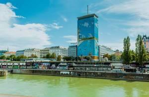 Skyscraper in Vienna