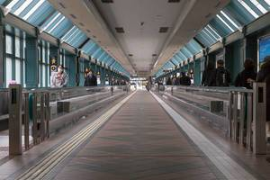 Skywalk in Ebisu