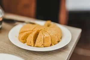 Sliced Pistachio And Nut Halva