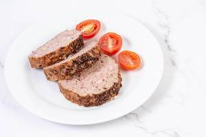 Sliced Pork and Chicken Meat Loaf with Cumin and Tomatoes (Flip 2019)