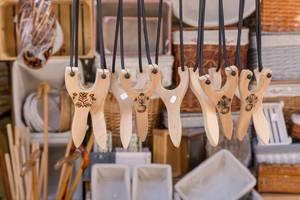 Slingshots in a shop in Thessaloniki