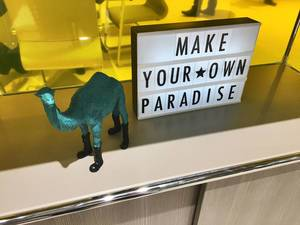 Slogan: Make your own paradise