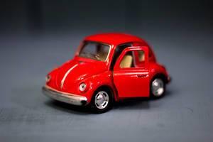 Small Red Volkswagen Model  Flip 2019
