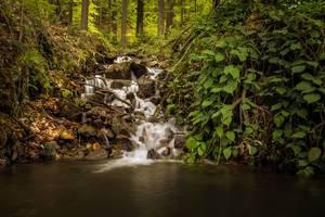 Small waterfall at Mariborsko Pohorje