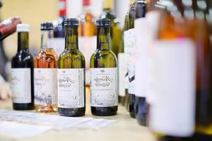 Small wine bottles at GoodWine Wine fair (Flip 2019)