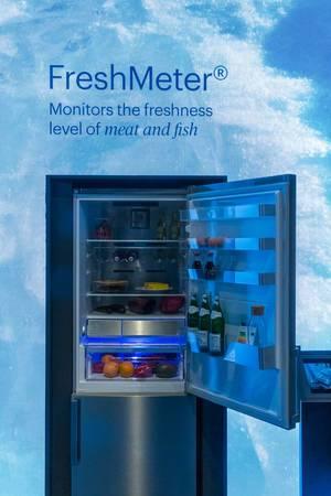 Smart kitchen devices: Grundig FullFresh refrigerator monitors the freshness level of your food