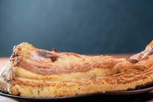 Smoked pork fat bacon