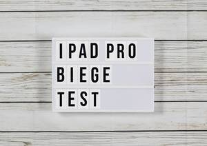 So leicht lässt sich Apples neues iPad Pro verbiegen