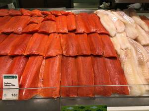 Sockeye Salmon Filet