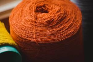 Soft Orange Yarn Ball (Flip 2019)