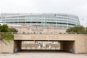 Soldier Field Historic Football Stadium in Chicago